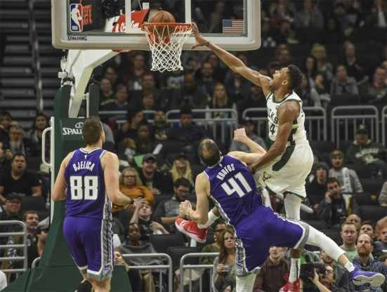 NBA. Pure dominantie van 'The Greek Freak', heldendaad in Phoenix en zesde nederlaag voor Lakers