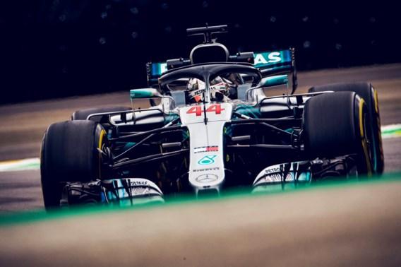 Mercedes kroont zich F1-kampioen in Brazilië
