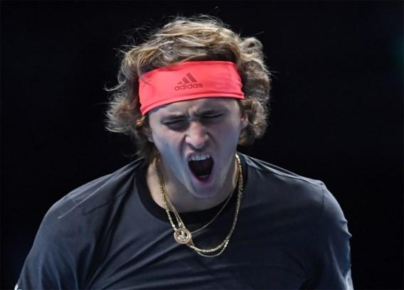 ATP FINALS. Zverev wint in twee tiebreaks van Cilic, Isner geen partij voor Djokovic