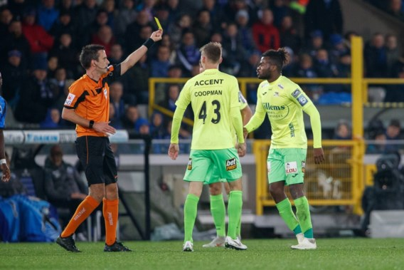 KV Oostende weigert drie speeldagen schorsing voor Nkaka