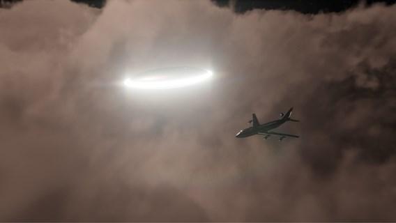 Piloten maken melding van ufo boven Ierland: 'Zeer helder licht'