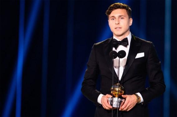 Manchester United-verdediger wint de <I>Guldbollen</I>, de Zweedse variant van de Gouden Bal