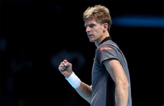 ATP FINALS. Roger Federer houdt zijn kansen gaaf, Kevin Anderson domineert