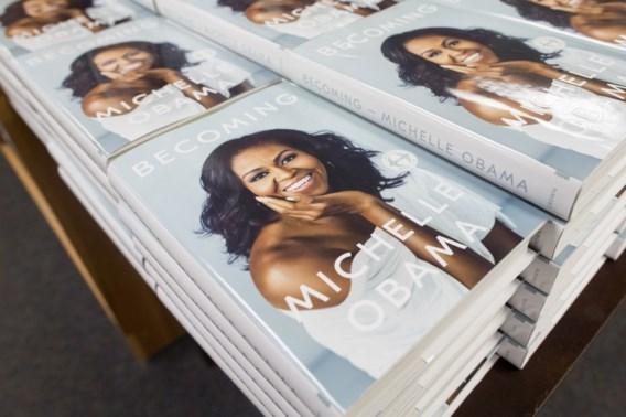Memoires Michelle Obama meteen op één in bestsellerlijst