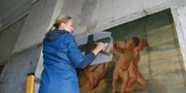 Engeltjes van villa Servais worden gerestaureerd