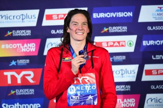 Kimberly Buys heeft knoop al doorgehakt: ze zwemt verder tot Spelen van 2020