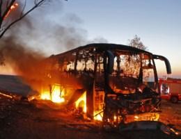 Militanten uit Gaza vuren raket op Israëlische bus