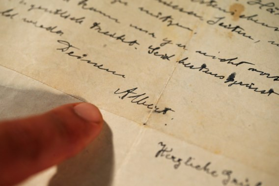 Brief van Albert Einstein over antisemitisme geveild voor 35.000 euro