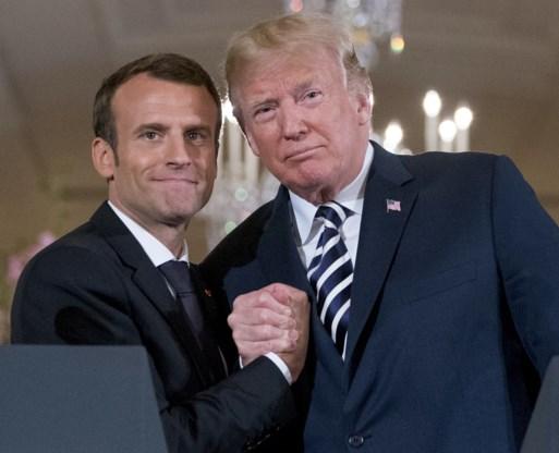 'Bondgenoten zijn elkaar respect verschuldigd', zegt Macron over tweets Trump