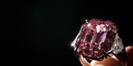 Zeldzame roze diamant verkocht voor recordbedrag