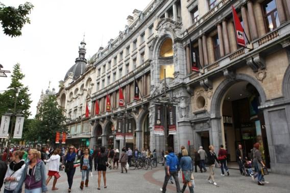 Antwerpse Meir blijft duurder dan Brusselse Nieuwstraat
