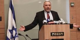 Netanyahu in grote problemen na ontslag minister van Defensie