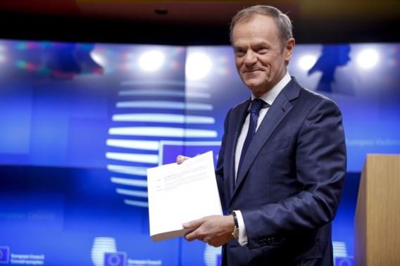 Europese top over Brexit op 25 november