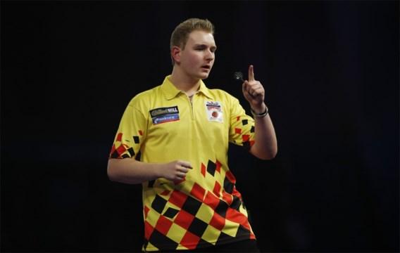 Dimitri Van den Bergh is uitgedanst op Grand Slam of Darts: Suljovic is te sterk
