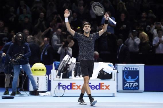 Novak Djokovic is helemaal op titelkoers en verslaat op Masters ook Cilic