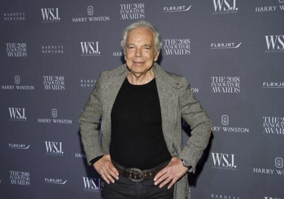 Ralph Lauren wordt als eerste Amerikaanse ontwerper geridderd