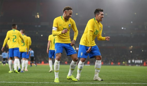 Brazilië wint Zuid-Amerikaanse clash tegen Uruguay, Argentinië wint zonder Messi