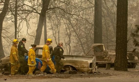 Meer dan 600 vermisten bij bosbranden Californië