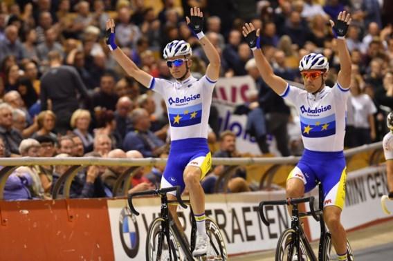 Kenny De Ketele en Robbe Ghys beginnen als leiders aan slotdag van Zesdaagse van Gent