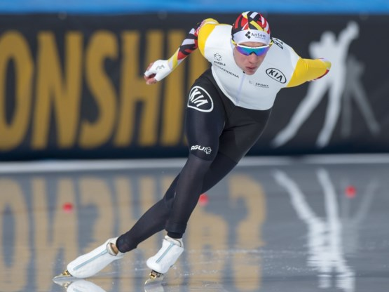 Swings raakt niet verder dan voorlaatste plaats op 5.000 meter van WB schaatsen in Obihiro