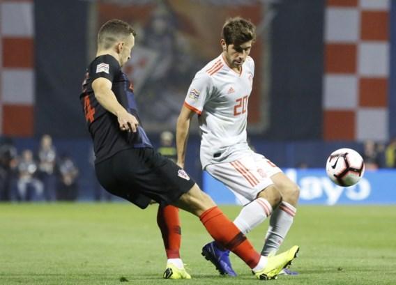 Revanche voor Kroaten tegen Spanje, Gent-speler scoort voor de ogen van Barcelona in Nations League