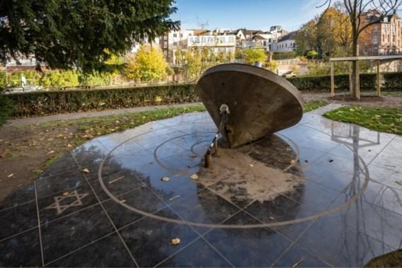 Monument voor Gentse Joden vernield op vooravond herdenking Kristallnacht