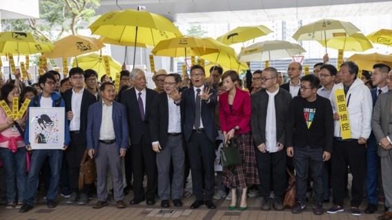 Betogers van 'paraplurevolutie' in Hong Kong pleiten onschuldig