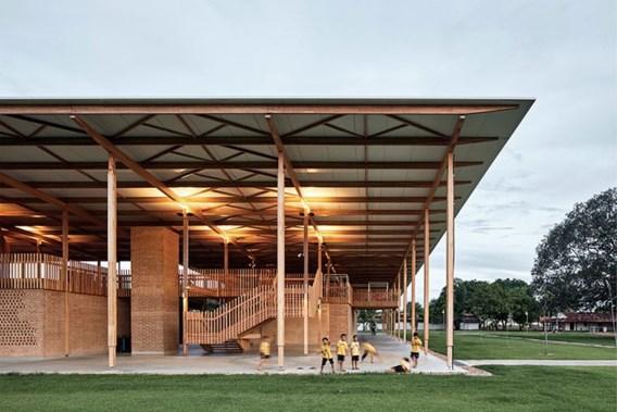 Braziliaanse houten school is beste gebouw ter wereld