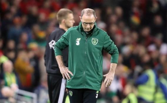 Martin O'Neill is niet langer bondscoach van Ierland