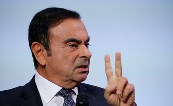 Nissan zet van fraude verdachte topman buiten