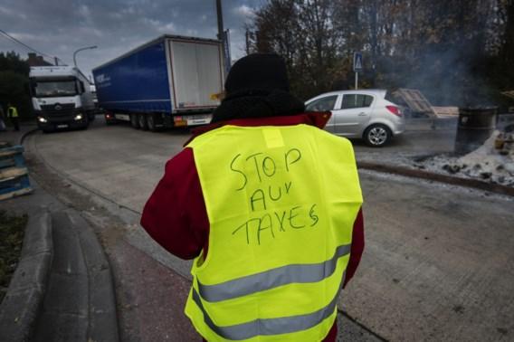 Gele hesjes betogen in Brussel en Limburg: 'België platleggen'