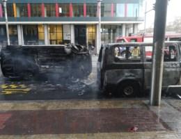 Protest gele hesjes in Brussel loopt uit de hand