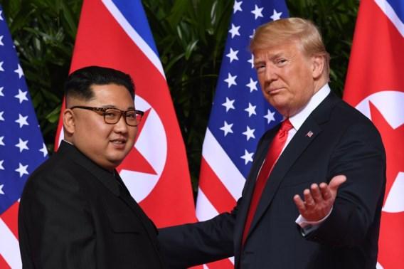 Trump hoopt op nieuwe ontmoeting met Kim Jong-un