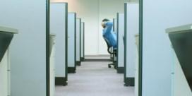 Ziek van verveling op het werk