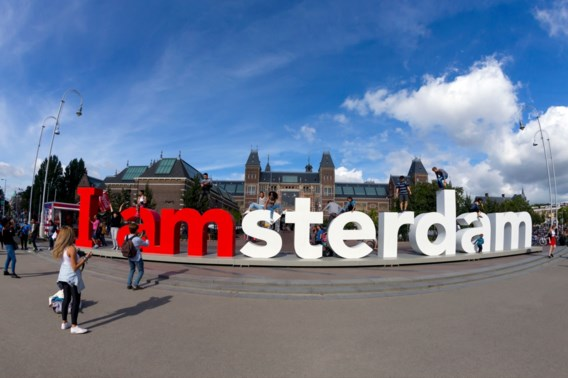 'I Amsterdam'-letters verdwenen van Museumplein