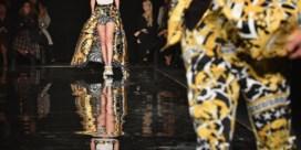 Donatella Versace laat nog eens het beest in zich los