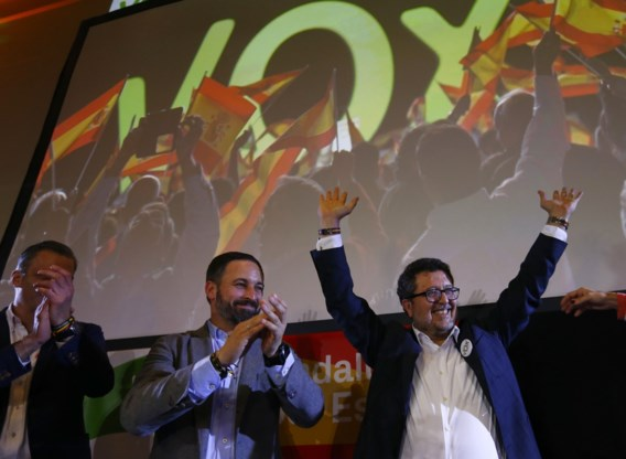 Extreemrechts breekt door in Andalusië