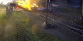 Opnieuw bijna fietser aangereden door trein