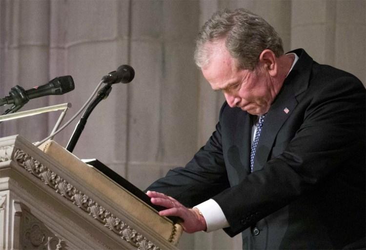 Amerikanen nemen afscheid van oud-president George H.W. Bush