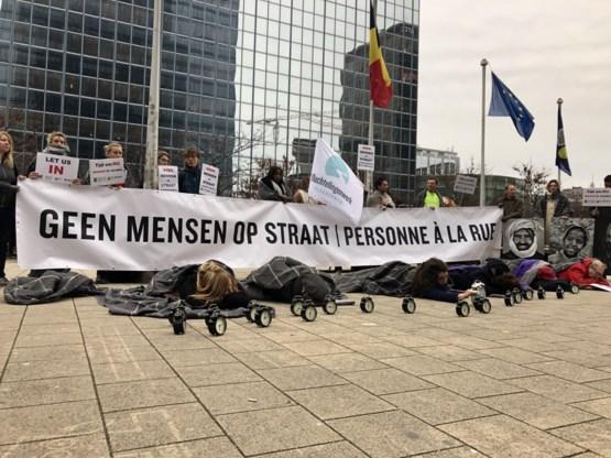 Vluchtelingenorganisaties protesteren tegen aanmeldlimiet