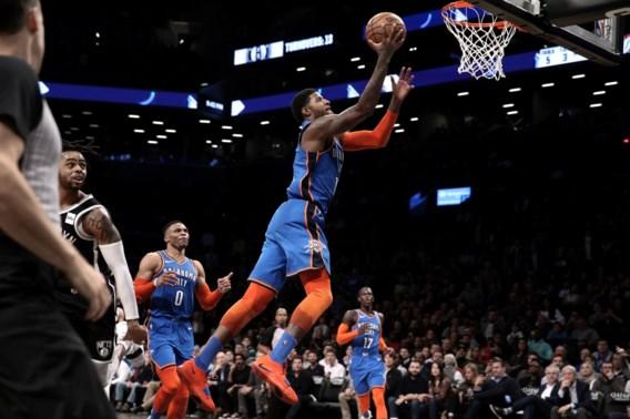 NBA. Oklahoma City Thunder haalt 18 punten achterstand op in laatste kwart