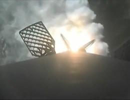 Landing SpaceX-raket mislukt