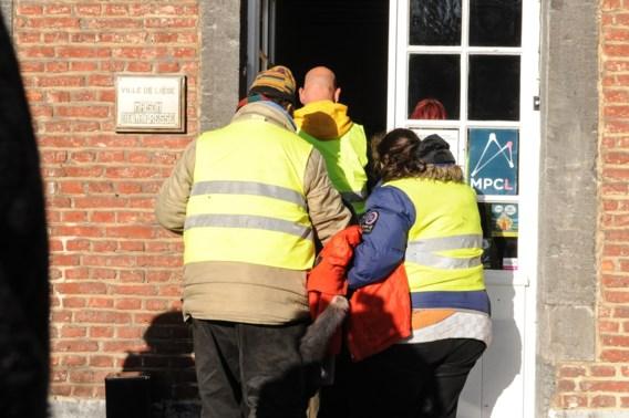 'Gele hesjes' protesteren in Luik