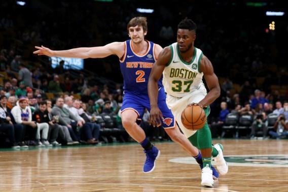 NBA. Boston Celtics zijn ook maatje te groot voor NY Knicks
