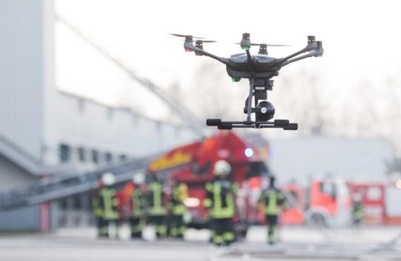De brandweerman krijgt hulp van drones: 'Zal mensenlevens redden'