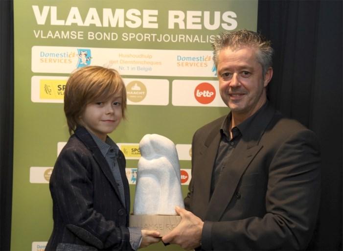 Nina Derwael wint nu ook Vlaamse Reus, broertje Keony neemt trofee in ontvangst