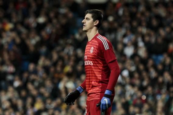 Courtois krijgt rust bij Real Madrid in Copa del Rey
