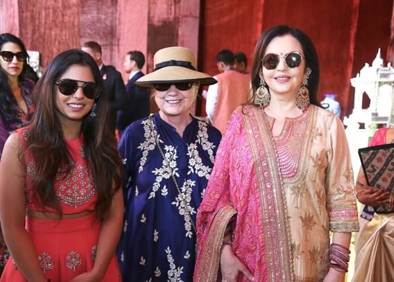 Beyoncé zingt op Indiaas huwelijksfeest, Clintons feesten mee