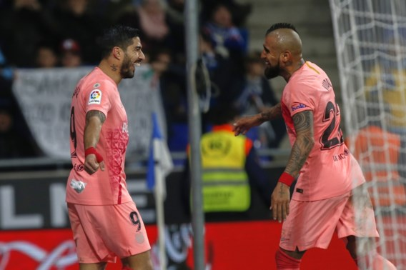 Barcelona-trainer Valverde gunt Luis Suarez rust in de Champions League tegen Tottenham