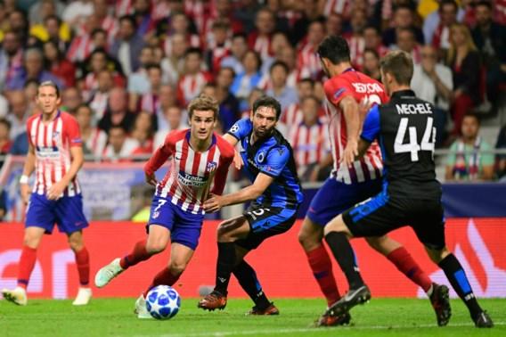 Italiaan fluit Champions League-match Club Brugge tegen Atlético Madrid